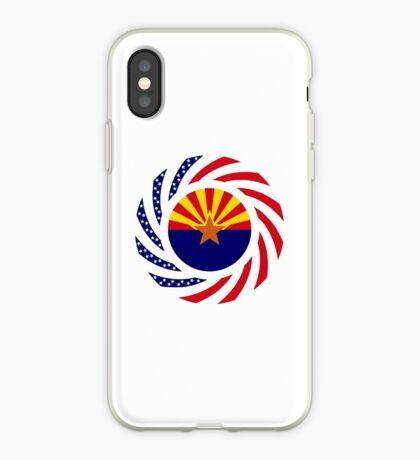 Arizonan Murican Patriot Flag Series iPhone Case