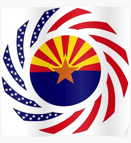Arizonan Murican Patriot Flag Series Poster