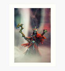 Lich - Reaper Miniatures Art Print