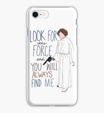 Rest In Peace Princess Leia iPhone Case/Skin
