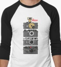 Leica Kameraentwicklung Baseballshirt mit 3/4-Arm