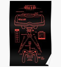 virtual boy posters redbubble