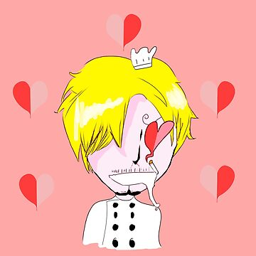Chef Sanji's in love! by Fourtailed