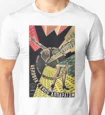 Man With A Movie Camera Unisex T-Shirt