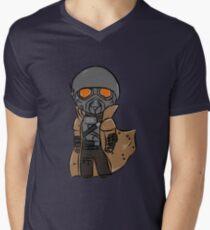 Chibi Veteran Ranger Men's V-Neck T-Shirt