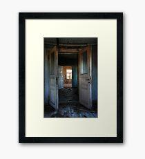 22.10.2014: Silent Oblivion Framed Print