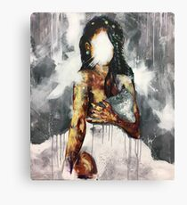 Undressed IV Canvas Print