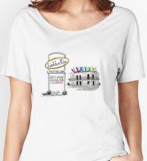 Golden Rim Motor Inn - The Luxury Women's Relaxed Fit T-Shirt