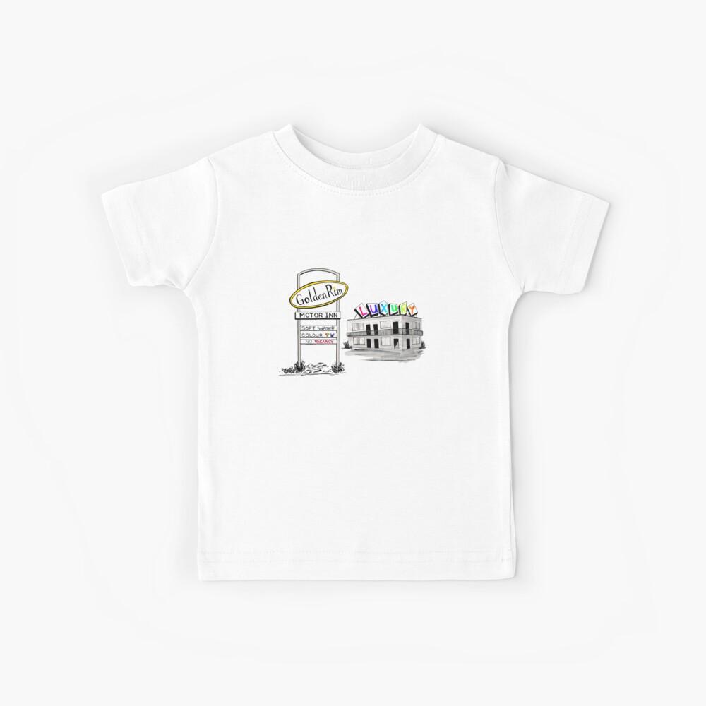 Golden Rim Motor Inn - Der Luxus Kinder T-Shirt