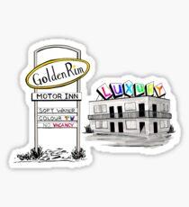 Golden Rim Motor Inn - The Luxury Sticker