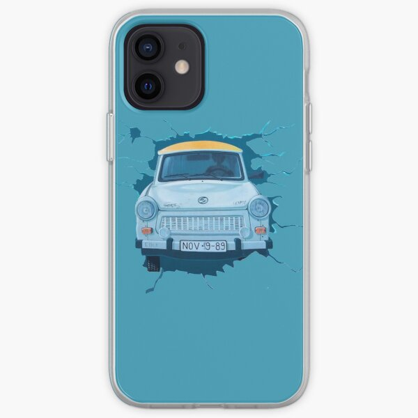 Berlin Wall - Trabant iPhone Soft Case