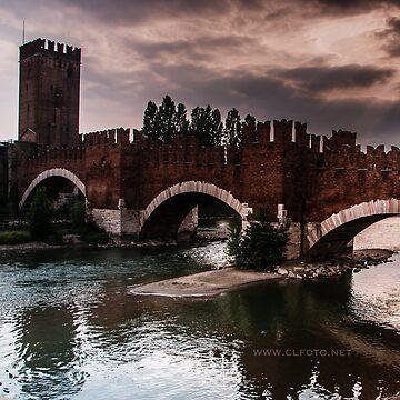 Castlevecchio Bridge, Verona, Italy by leemcintyre