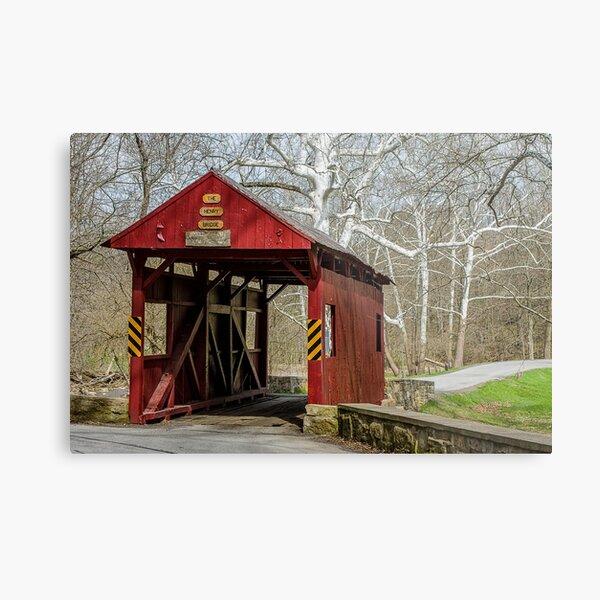 The Henry Bridge - horizontal Metal Print