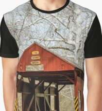 The Henry Bridge - vertical Graphic T-Shirt