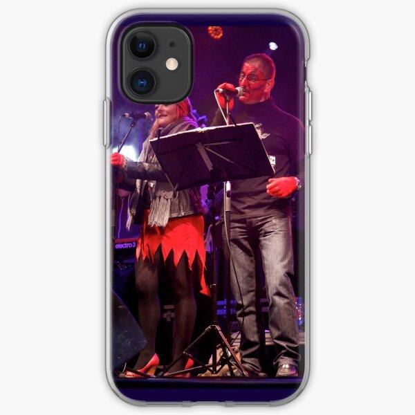 Live Music  - Haloween 2012, Derry  iPhone Soft Case