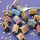 A Spoon of Gingerbread Houses by PetitPlat