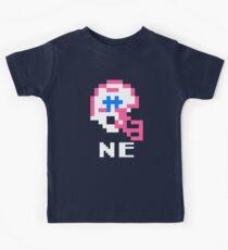 Tecmo Bowl, Tecmo Super Bowl, Tecmo Bowl Shirt, Tecmo Bowl T-shirt, Tecmo Bowl Helmet, NE Helmet, NE Kids Tee