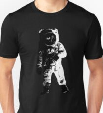 Black and White Astronaut T-Shirt