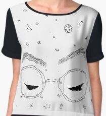 Dodie Clark - Freckles and Constellations Chiffon Top