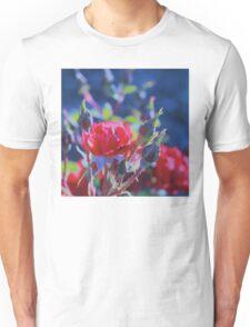 Red Roses at Dusk #5 Unisex T-Shirt