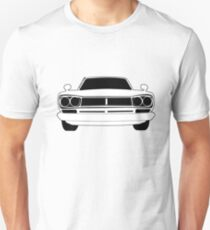 Original C10 Datsun / Nissan GTR in Black & White | Stickers and Tees  T-Shirt