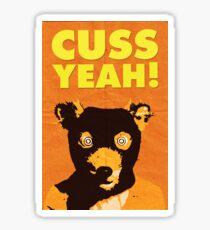 Fantastic Mr. Fox, Cuss Yeah Sticker