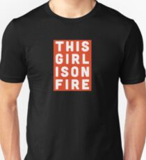 """""""Girl On Fire"""" by Alicia Keys T-Shirt"""