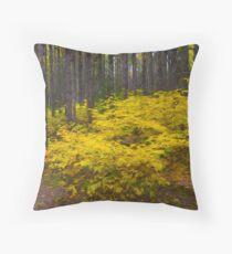 Algonquin Forest Throw Pillow