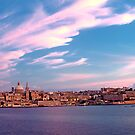 Sunset On Valletta by Xandru