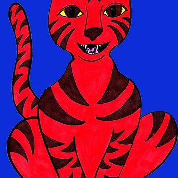Tiger Puss by Munnaminx