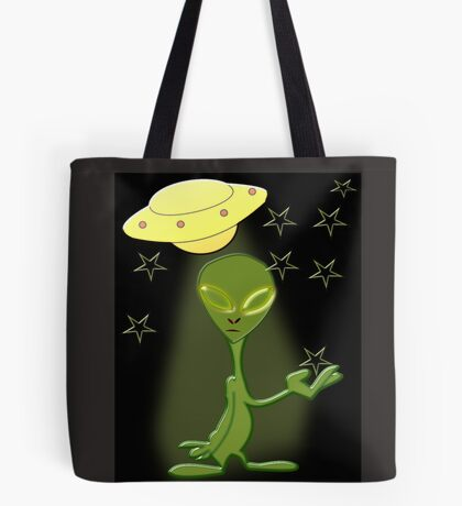 Alien's Adventure (5364 Views) Tote Bag