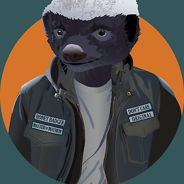 Honey Badger Master of Mayhem by msb1016