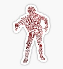 Zombie Survival guide Sticker