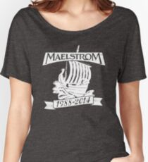 Maelstrom (WHITE) Women's Relaxed Fit T-Shirt