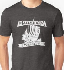 Mahlstrom (WEISS) Slim Fit T-Shirt