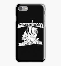Maelstrom (WHITE) iPhone Case/Skin