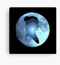 Princess Leia moon Canvas Print