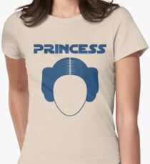 Star Wars Princess Leia Carrie Fisher Women's Fitted T-Shirt