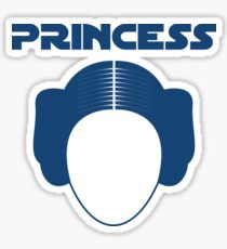 Star Wars Princess Leia Carrie Fisher Sticker