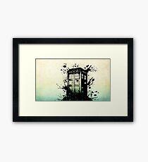 Doctor Who-The Tardis Framed Print