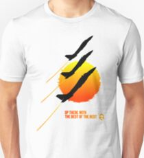 Top Gun F14 Sunset Unisex T-Shirt