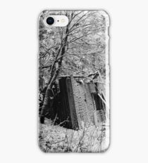 27.12.2016: Remains of House in Snowy Forest iPhone Case/Skin