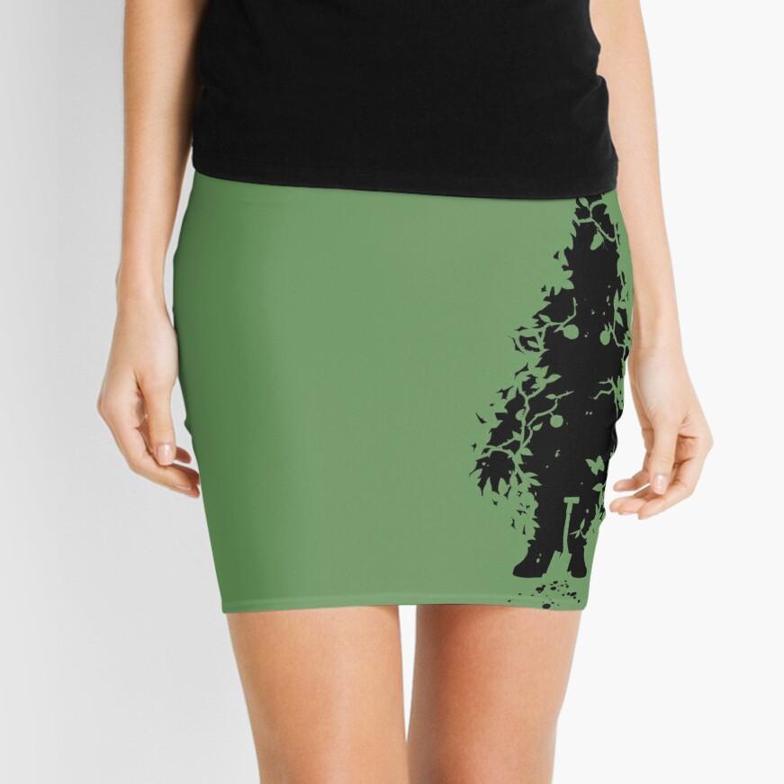 Garden Watcher Mini Skirt Front
