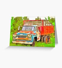 Old Chevrolet Viking Work Truck  Greeting Card