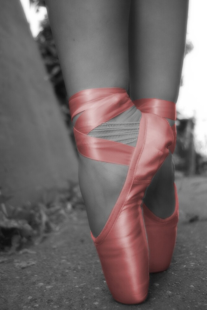 Ballet Shoes IV by andreagoth