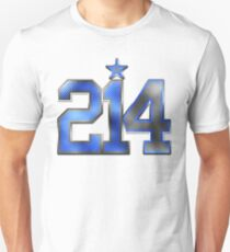 214 Bling (Blue 21/White 4) T-Shirt