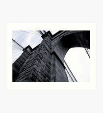 Brooklyn Bridge 2010 Art Print