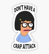 Tina Crap Attack Sticker