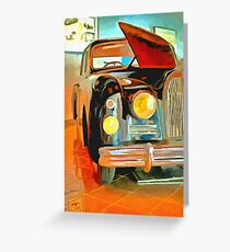 Talbot Lago T15 QL6 Greeting Card