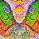 Color Stone carving #DeepDream by blackhalt